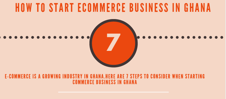 How to start ecommerce business in Ghana