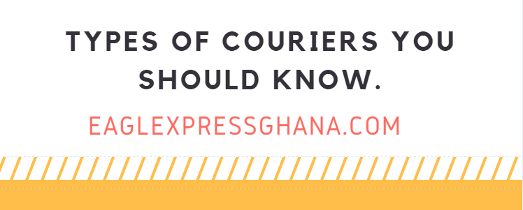 Types of couriers you should know.
